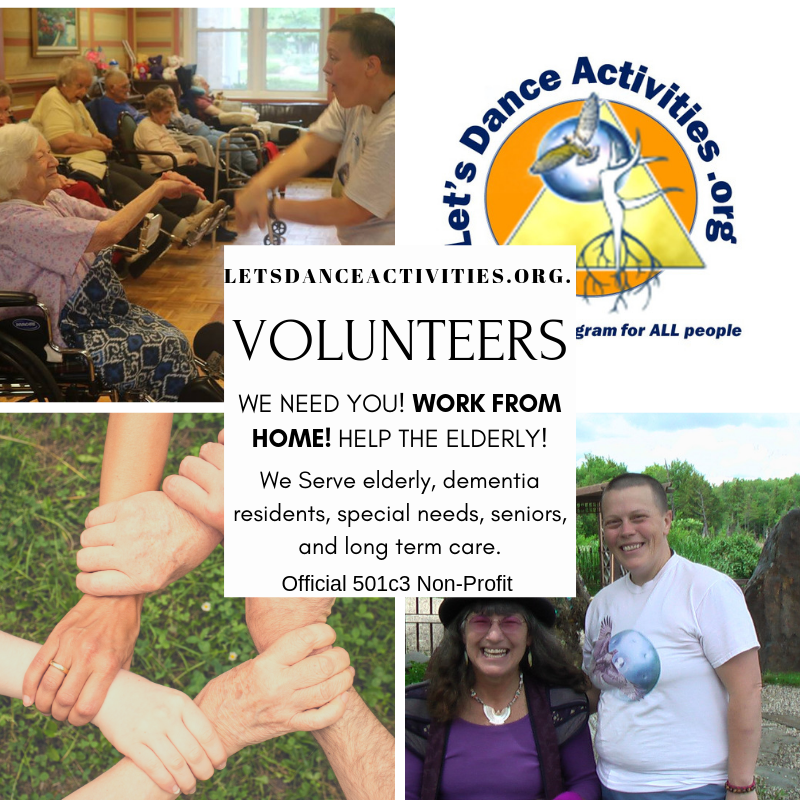Volunteer for Let's Dance Activities