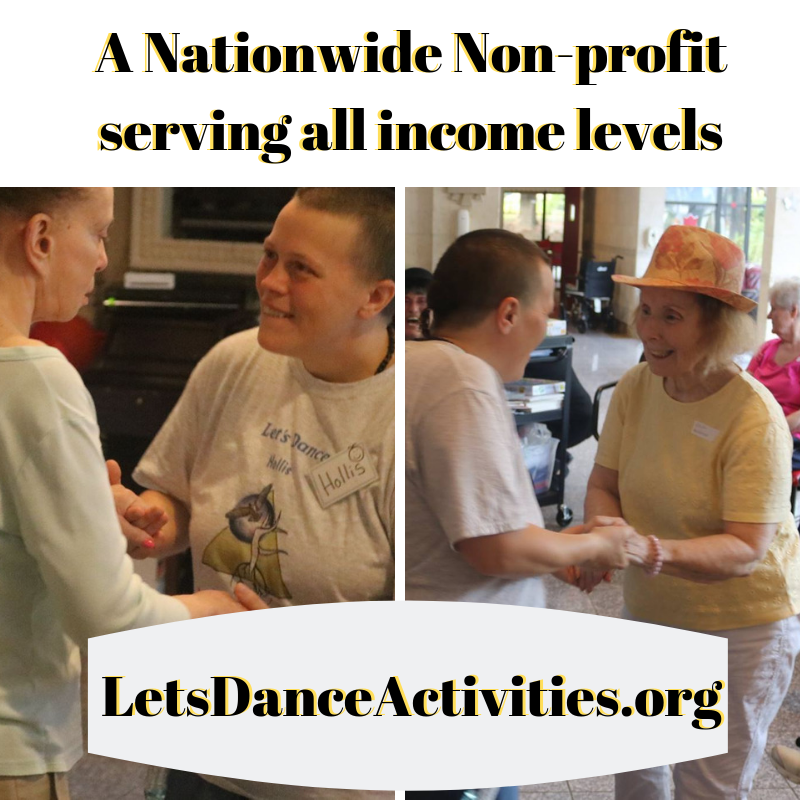 Help Let's Dance continue to serve this under served community!