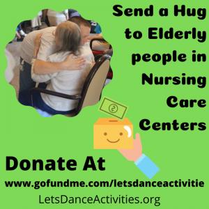 Send a hug to elderly!