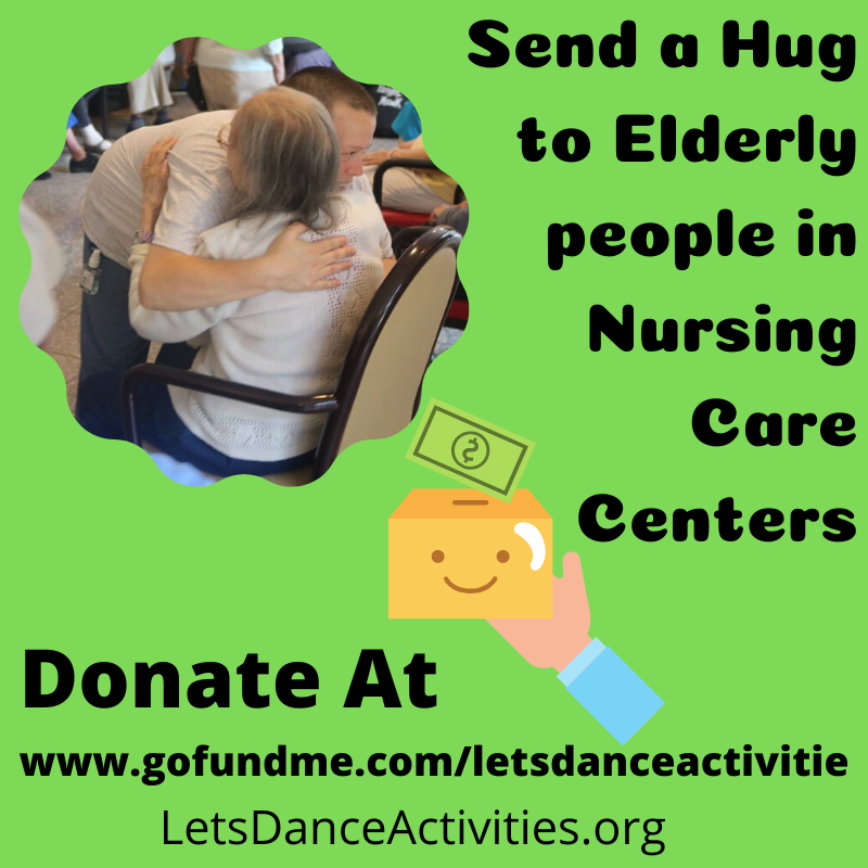 Send a hug to elderly!