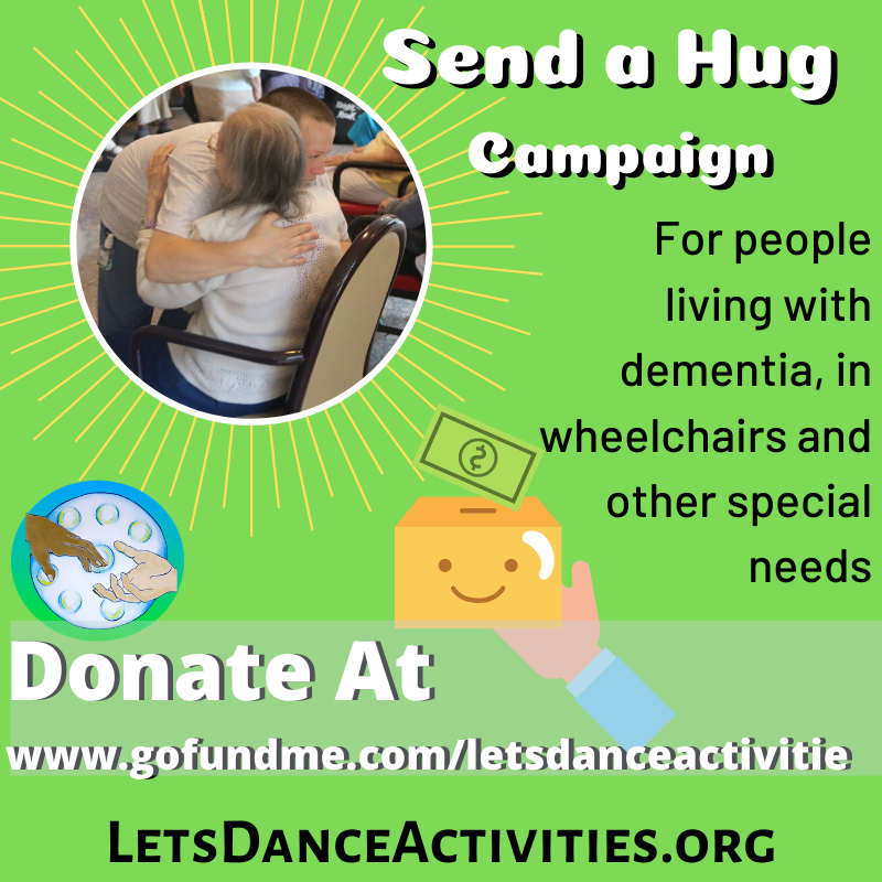 Let's Dance - SEND A HUG campaign
